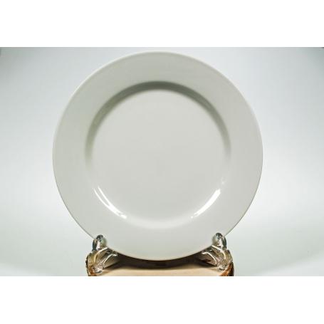 plato coimbra llano blanco porcelan