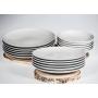 platos coupe porselana blanca