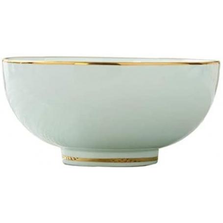 cuenco porcelana oro kyoto dorado
